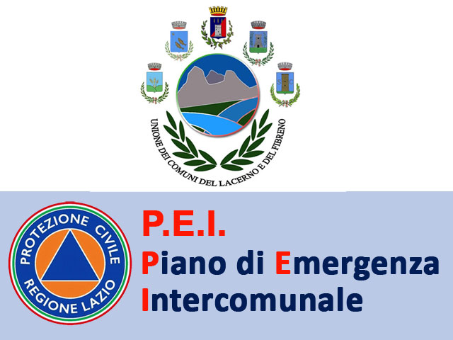 P.E.I Piano di Emergenza Intrercomunale
