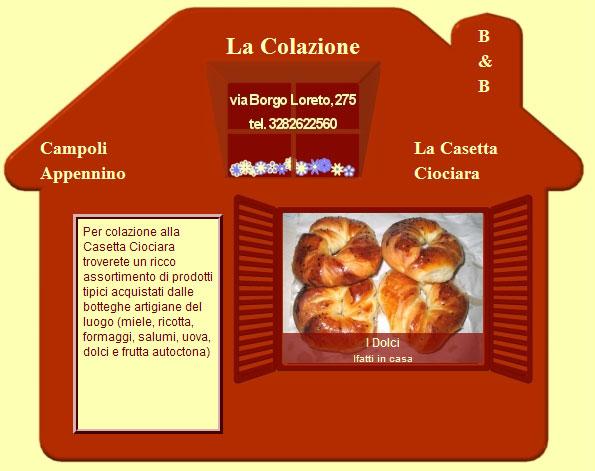 B&B La Casetta Ciociara