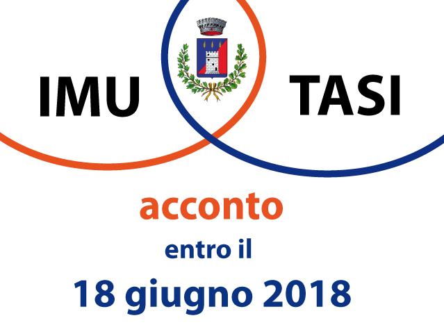 AVVISO VERSAMENTO IMU E TASI ACCONTO 2018
