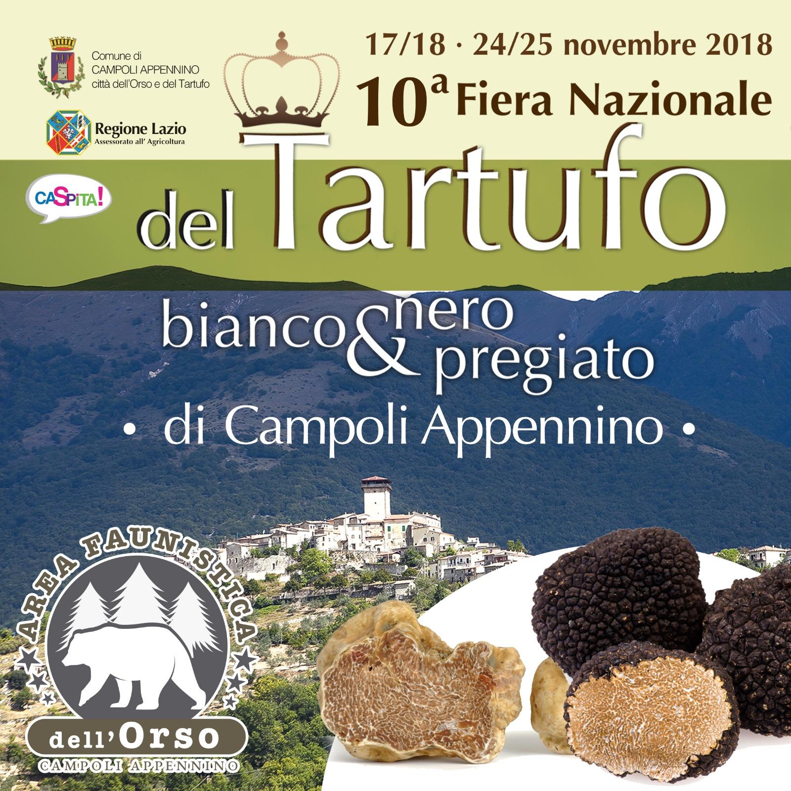 10° Fiera Nazionale del tartufo Bianco e nero pregiato di Campoli Appennino