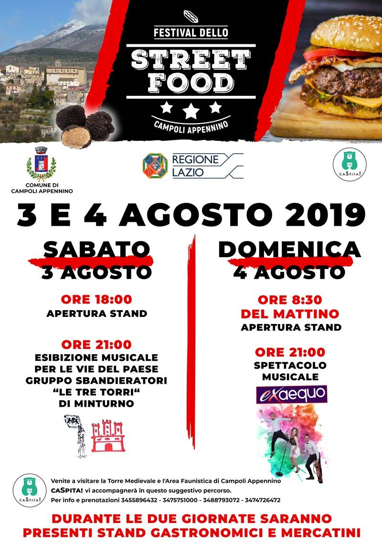 Festival dello street food di Campoli Appennino