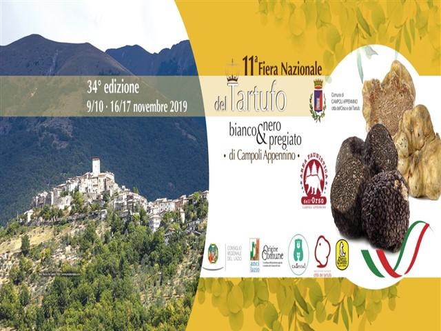 11° Fiera Nazionale del tartufo bianco e nero pregiato di Campoli Appennino